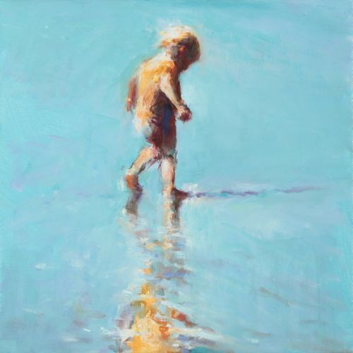 Reflection, oil, 2009, 30 x 30 cm, Sold
