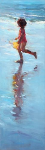 Yellow bucket, oil / canvas, 2010, 100 x 30 cm, Sold