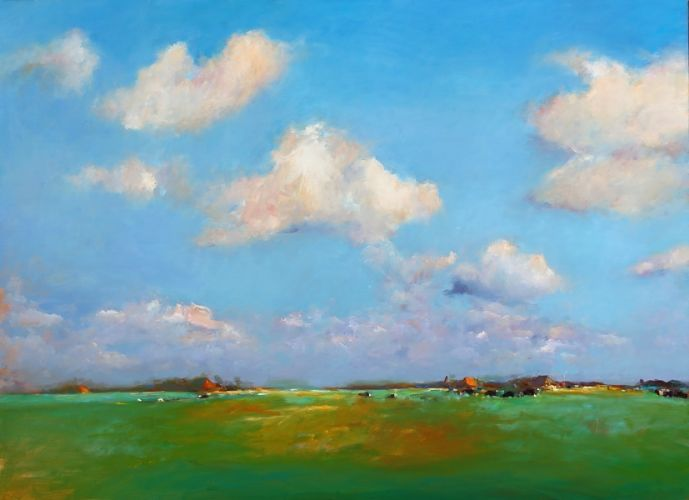 Friesland  VII, oil / canvas, 2010, 110 x 150 cm, Sold