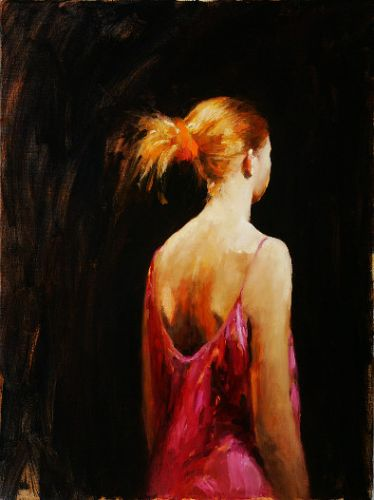 Model, Oil / canvas, 2004, 80 x 60 cm, Sold