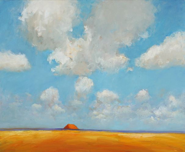 Summer of 2005, Oil / canvas, 2005, 100 x 120 cm, Sold