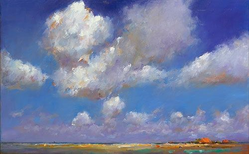 Friesland  VIII, oil / canvas, 2011, 50 x 80 cm, Sold