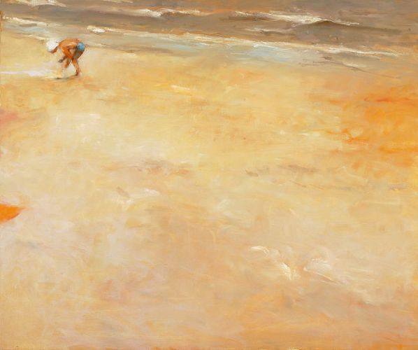 Searching II, Oil / canvas, 2005, 100 x 120 cm, Sold