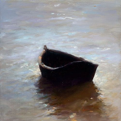 Boat, oil / canvas, 2011, 30 x 30 cm, Sold