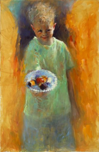 Candy, oil / canvas, 2012, 115 x 75 cm, € 5.900,-