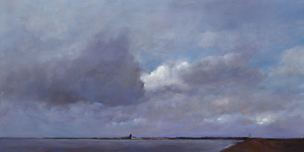 Zierikzee, oil / canvas, 2012, 60 x 120 cm, Sold