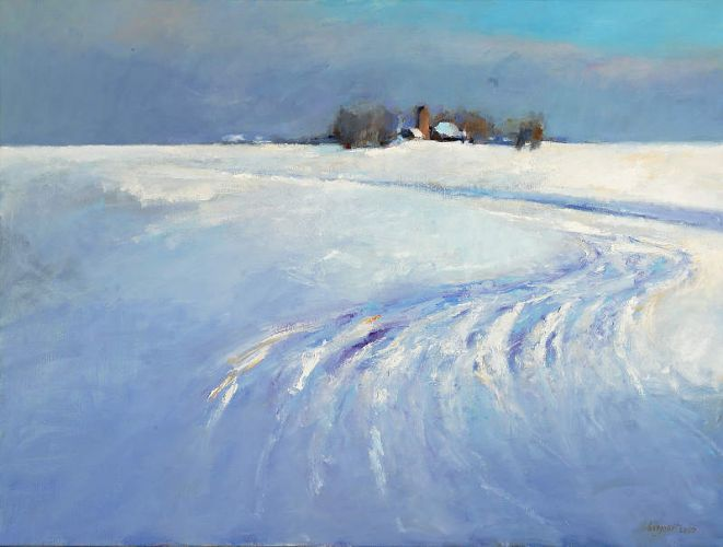 Winter 2005, Oil / canvas, 2005, 90 x 120 cm, Sold