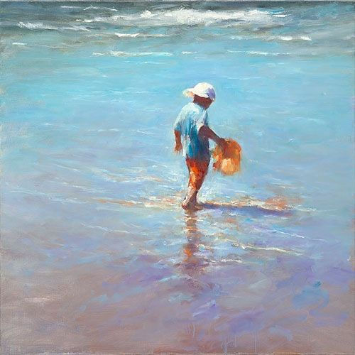 Watercarrier, oil / canvas, 2012, 100 x 100 cm, Sold