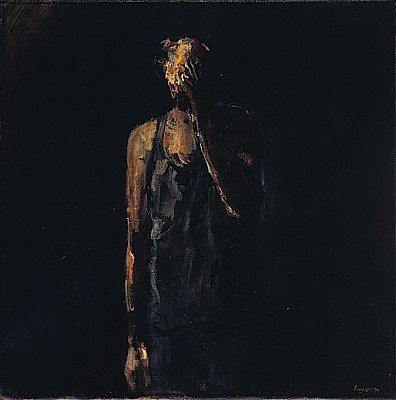 J-P, Oil / canvas, 1995, 70 x 70 cm, Sold