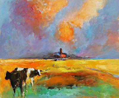 Summer 2006, Oil / canvas, 2006, 100 x 120 cm, Sold