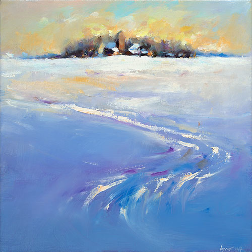 Jouswier, oil / canvas, 2017, 40 x 40 cm, Sold