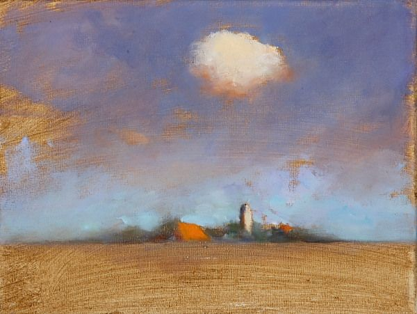 Eagum, Oil / canvas, 2008, 18 x 24 cm, Sold