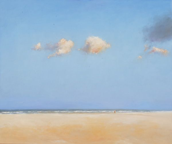 Beach, Oil / canvas, 2007, 100 x 120 cm, Sold