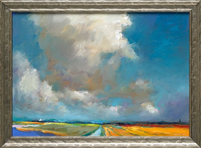 Holland, oil / canvas, 2020, 50 x 70 cm, € 3.250,-