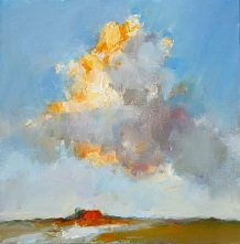 Friesland IV, Oil / canvas, 2007, 20 x 20 cm, Sold