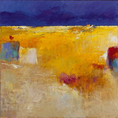 Beachmark 3, Oil / canvas, 2001, 150 x 150 cm cm, Sold